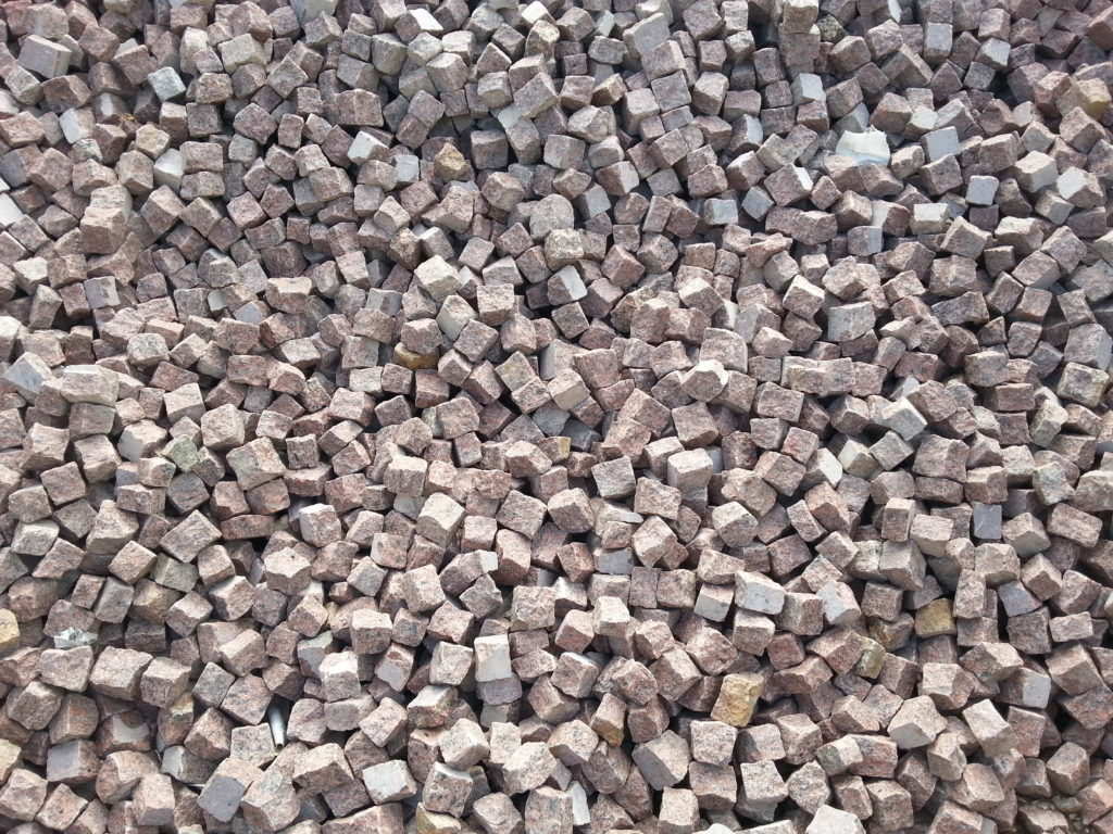 Granit czerwony 4-6 II