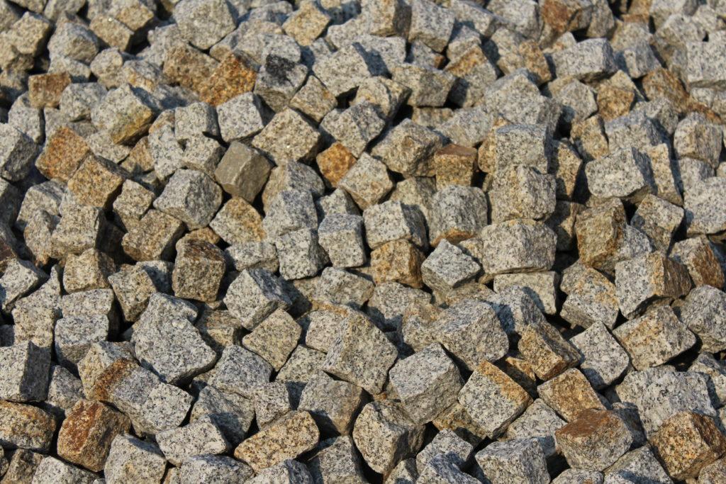 Granit szaro rudy 4-6