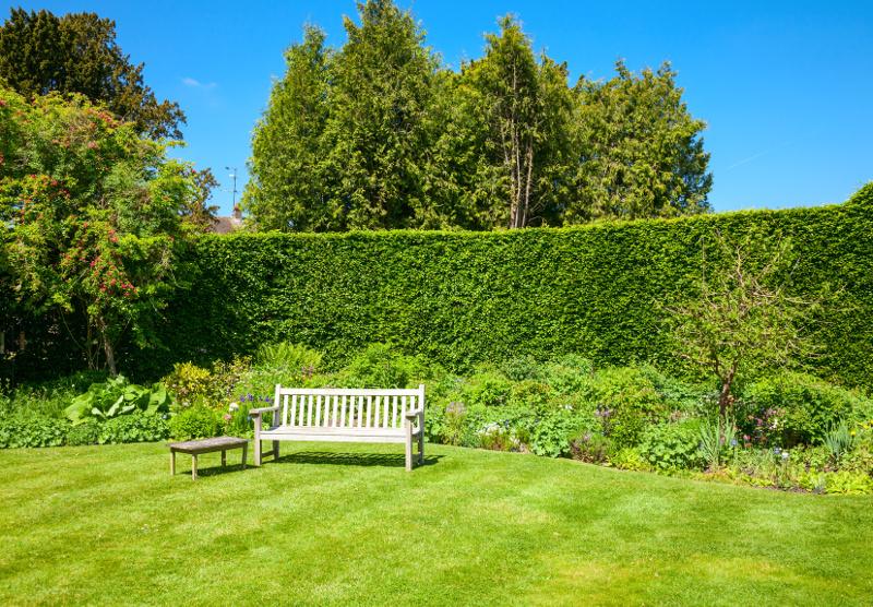 Aranżacje w ogrodzie angielskim